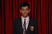 1 School Captain - Anant Kedia